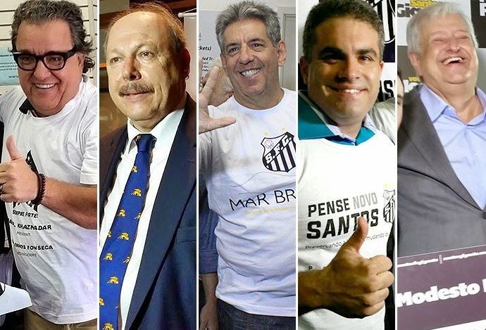 Eleições no Santos FC: conheça os candidatos