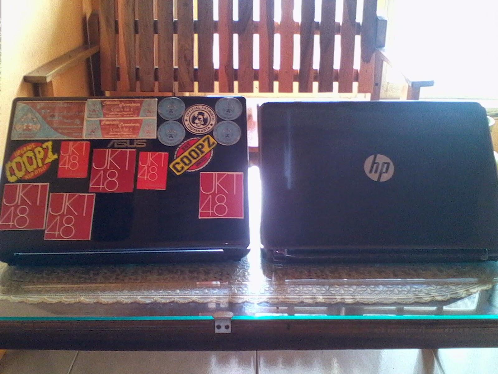 Laptop ASUS dan Laptop HP