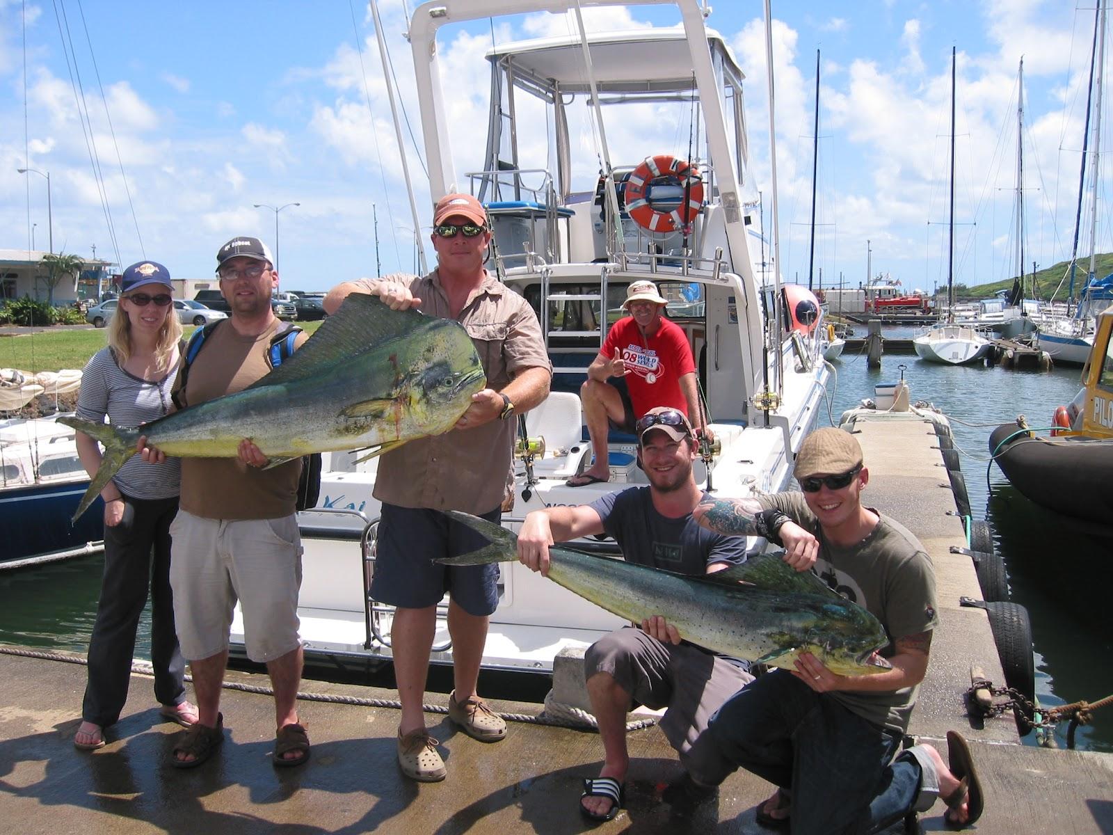 C lure fishing chaters kauai hawaii kauai sportfishing for Fishing in kauai
