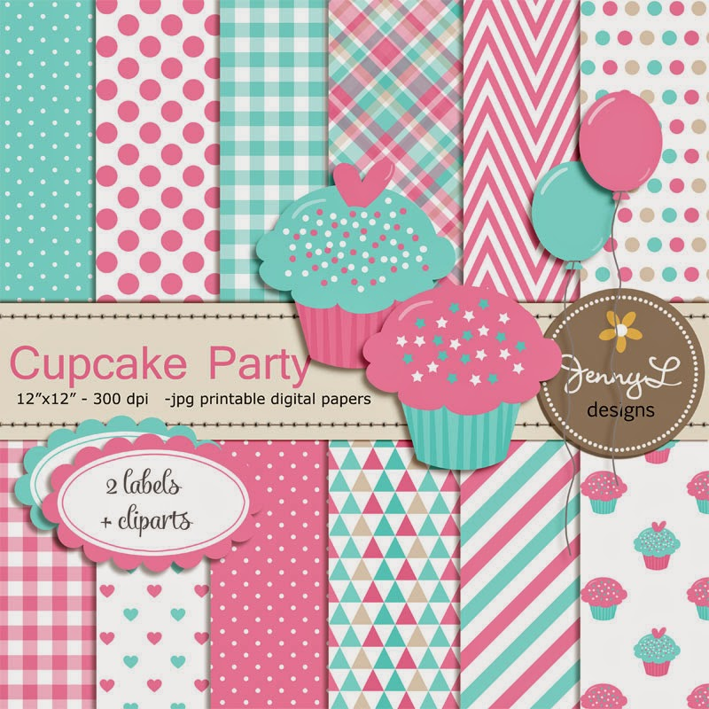 https://www.etsy.com/listing/228901562/cupcake-theme-digital-papers-and-clipart?