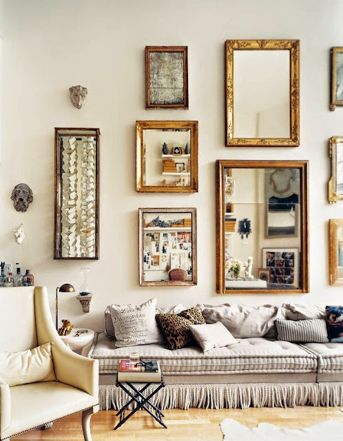 Weekend inspiration │ Mirrors/lulu klein