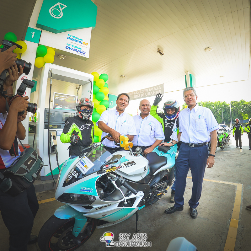 New PETRONAS PRIMAX 95 fuel for superbike user too