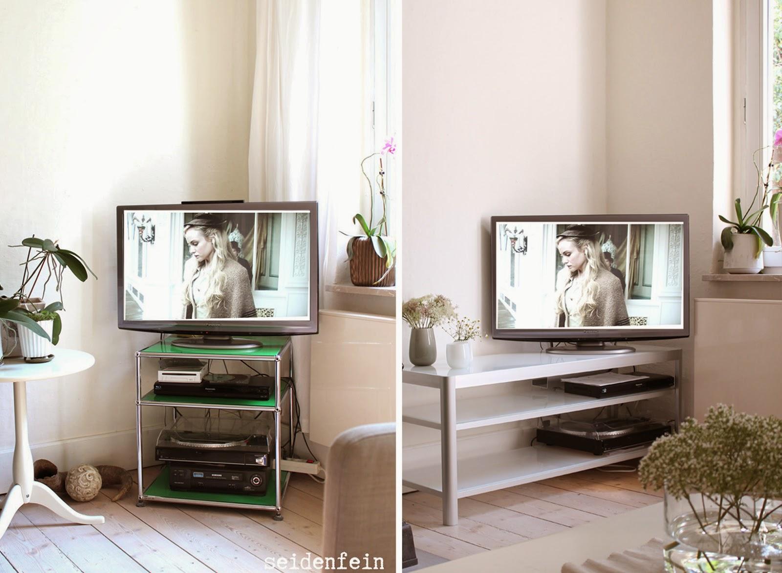 seidenfeins Blog vom schönen Landleben: freh up ! IKEA Gettorp TV ...