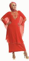 Baju Lebaran Merah Inflico
