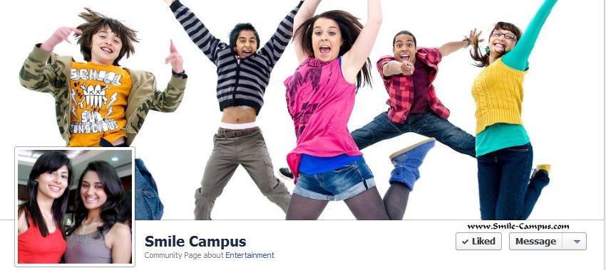 Smile-Campus.com Facebook Timeline Page