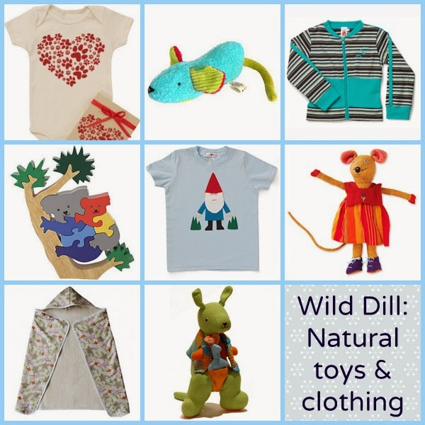 25% off this weekend at Wild Dill: Organic children's clothing and natural toys