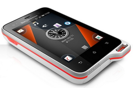 Sony Ericsson Xperia Active, Ponsel Tahan Banting