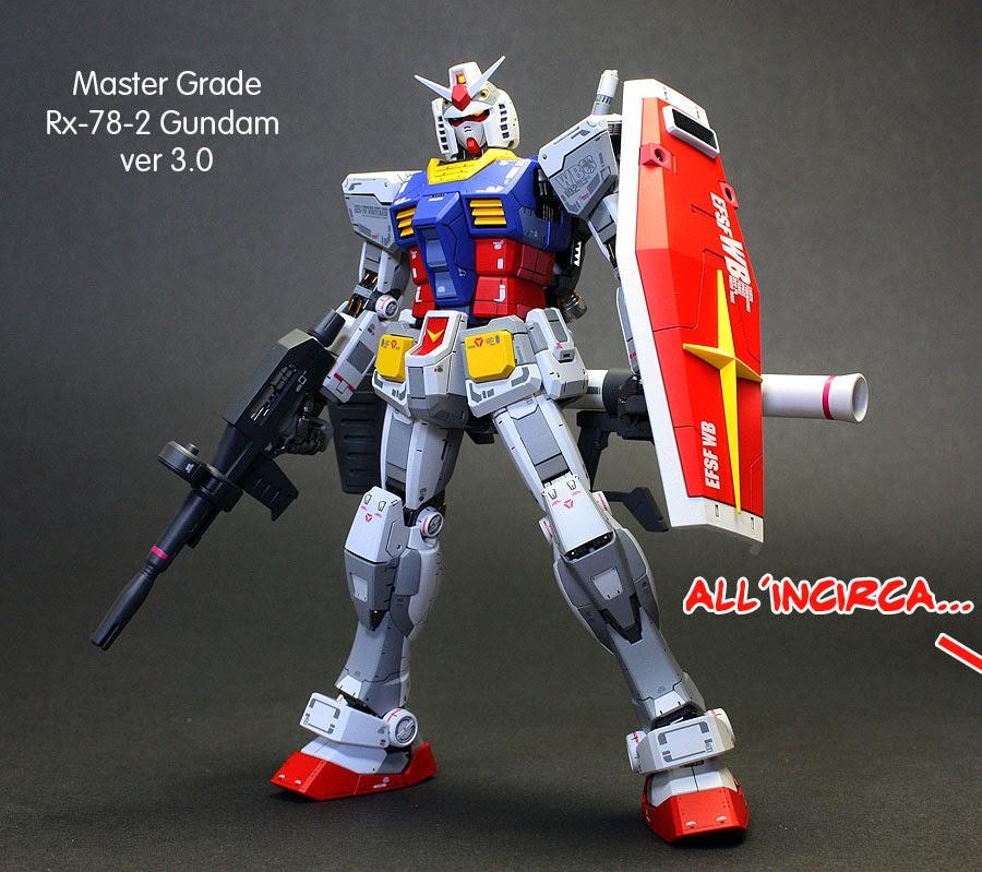 Gundam RX-78-2 Master Grade Gunpla recensione