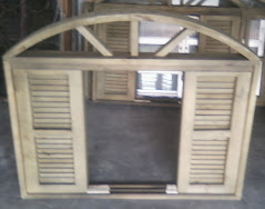 veneziana madeira ecologica medida 1,00 x1,00 100 x 1,20