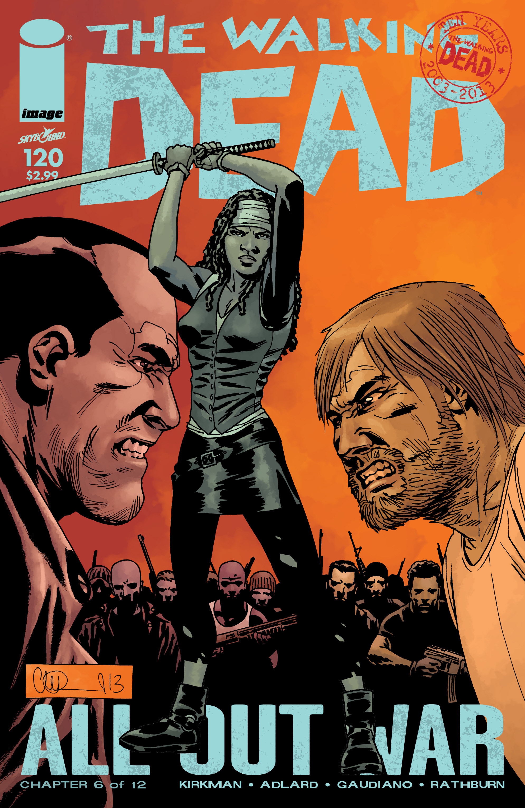 The Walking Dead 120 Page 1