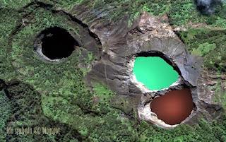 Danau Tiga Warna Di Indonesia