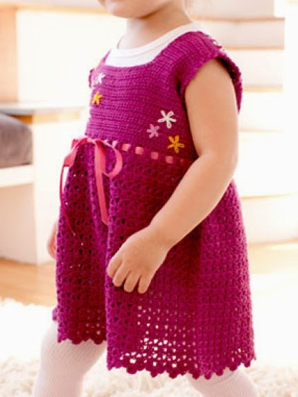 Crochet Sundress - Free Pattern