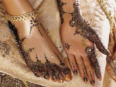 Mehndi Menu In Lahore : Bridal foot mehndi designs latest wedding 2011