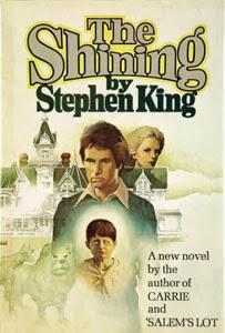 Portada original de El resplandor, de Stephen King