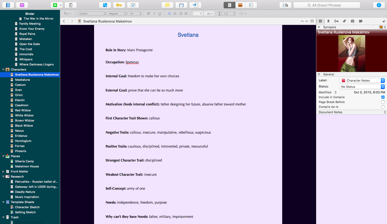 how to open a website in scrivener