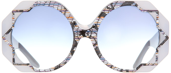 Cutler & Gross 2012 sunglasses: starry eyed surprise