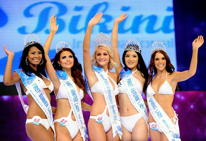 Popularity bikini internationaly