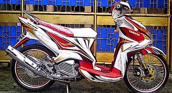 Gambar Modifikasi Motor Yamaha Xeon