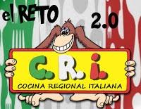 """Participo en el reto """"Cocina Regional Italiana"""""""