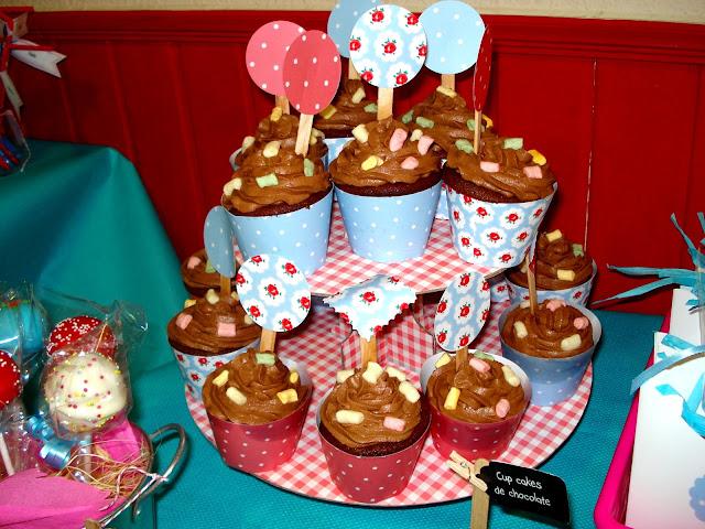 Cup Cakes de chocolate