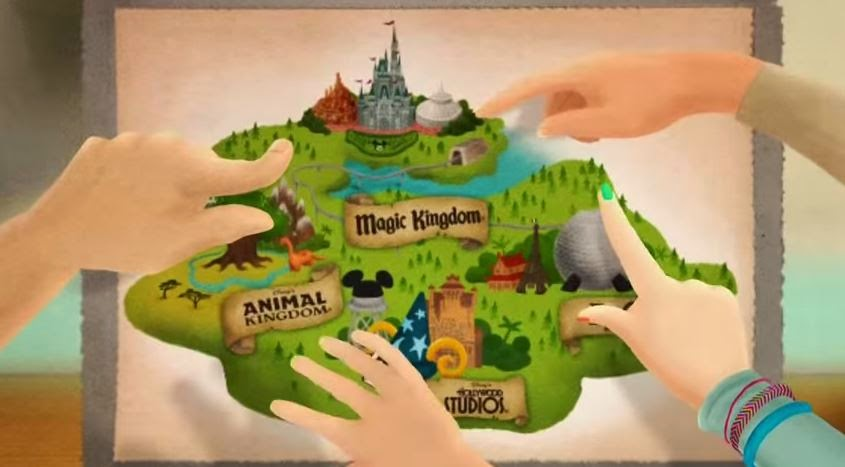 Jedi mouseketeer plan your walt disney world vacation with a custom map my wife kristen and i love planning our disney trips a great way to help make planning your adventure easier is creating your own personalized park map gumiabroncs Gallery