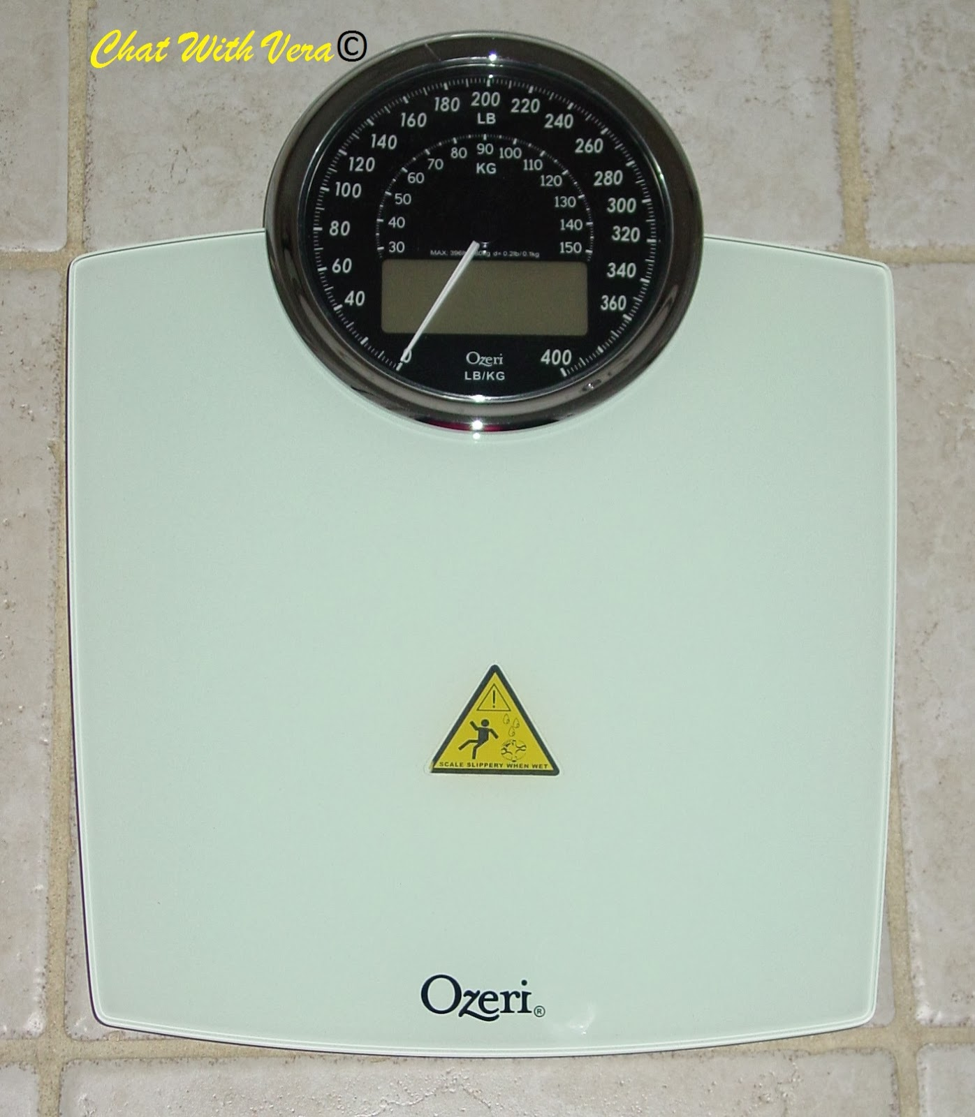 chat with vera ozeri rev digital bathroom scale with