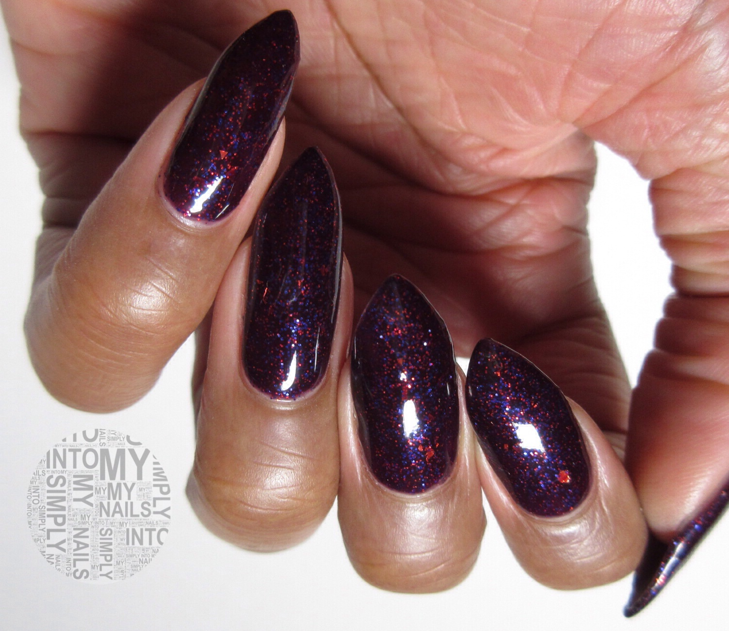 Mini Manicures ~ IBD Midnight Martinis | Simply Into My NAILS