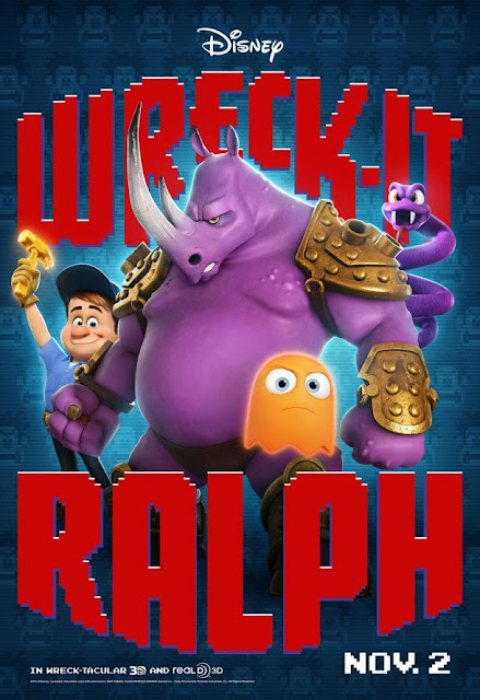 wreck-it ralph, character poster