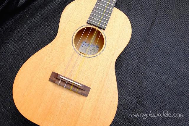 Pono MB-e Baritone ukulele body