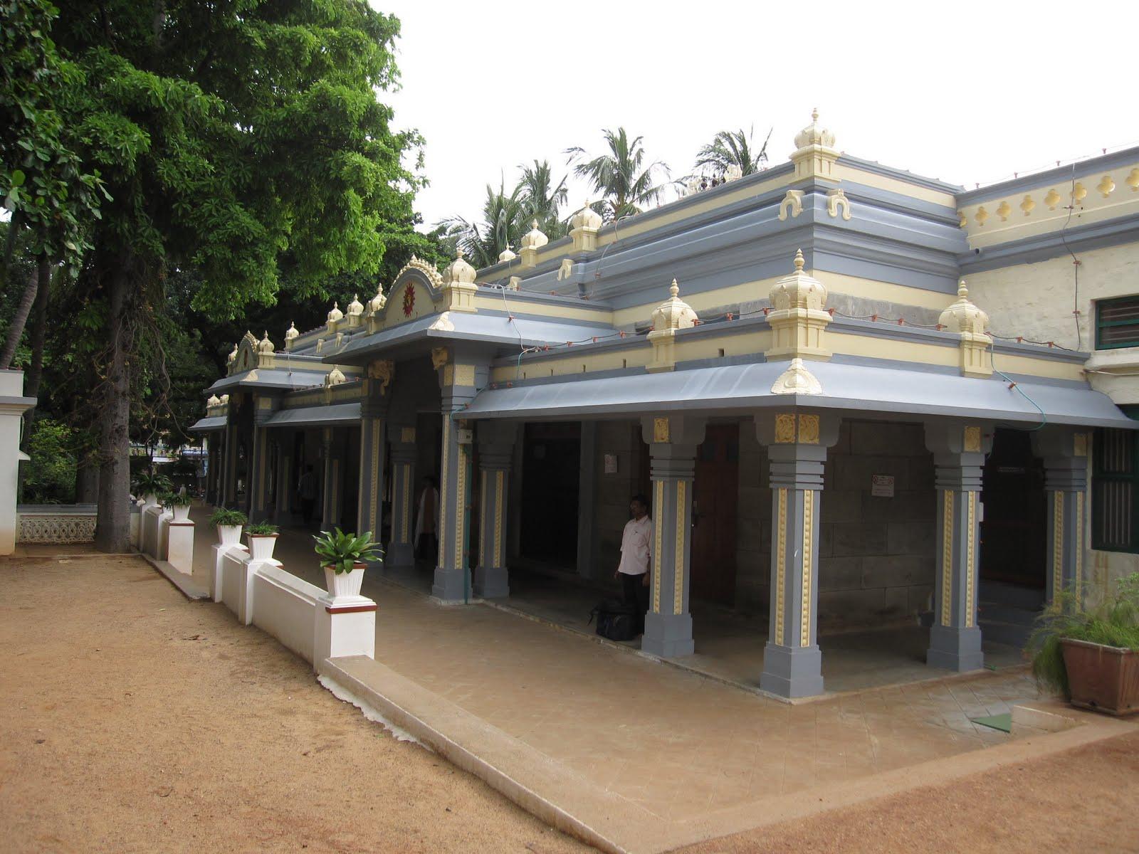 Sri Ramana Ashram Ramana Maharshi Ashram