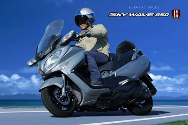 New Suzuki SkyWave 650 Review