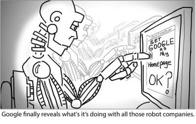 Apa Tujuan Google Dengan Proyek Robotiknya?