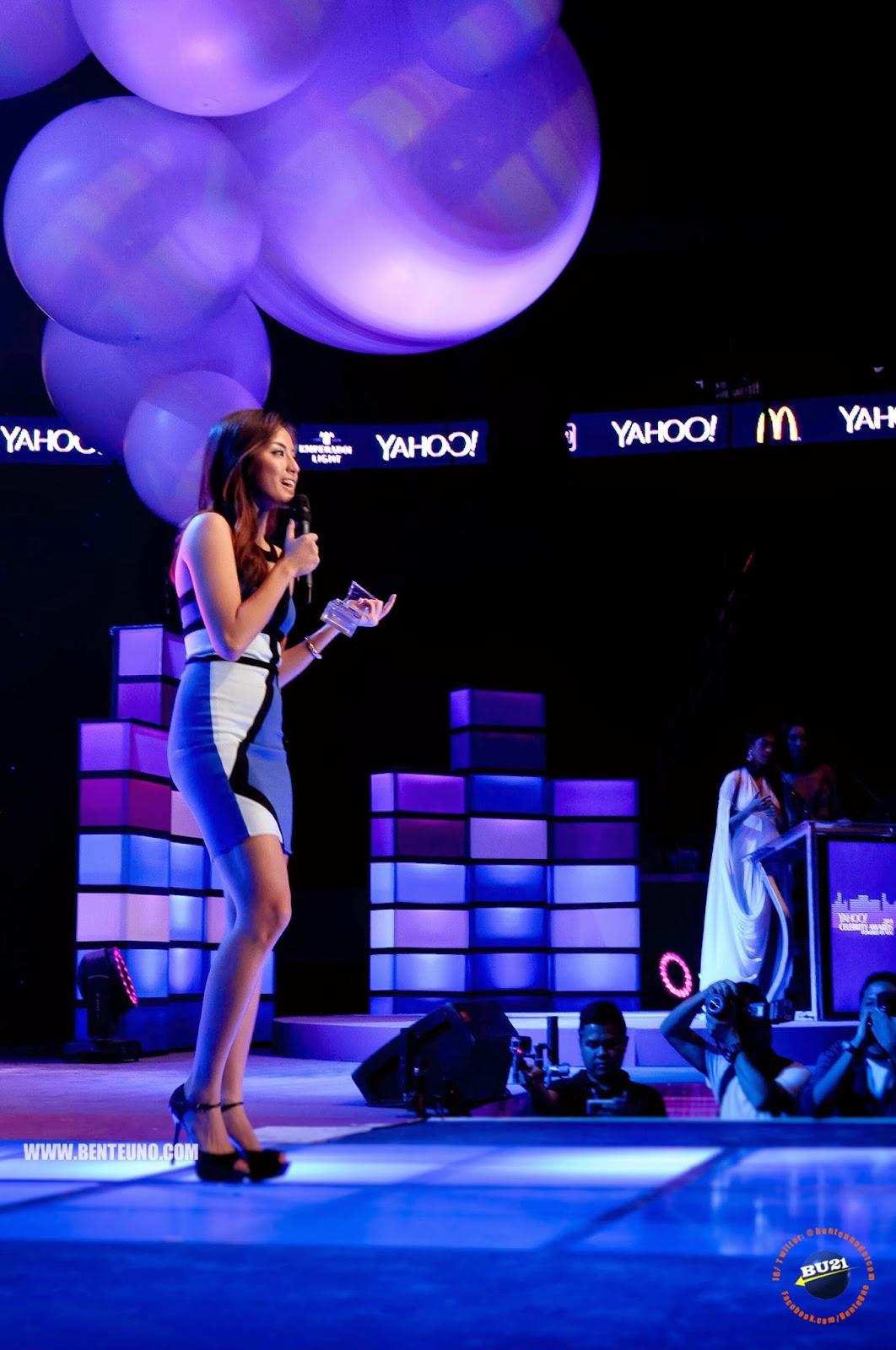 Gretchen Ho, Female Hothlete of the Year at Yahoo Celebrity Awards 2014