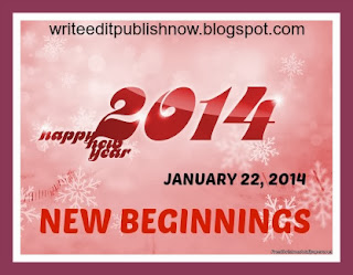 JANUARY BLOGFEST - NEW BEGINNINGS