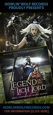 LEGEND OF THE LICH LORD Soundtrack by Bruno Valenti