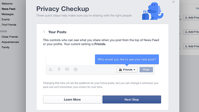 Privacy Check-up Tool To Protect Your Privacy On Facebook 2