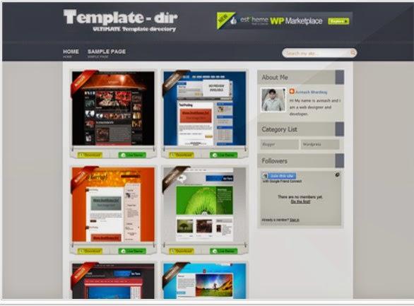 Template-Dir Blogger template free Download ~ Blogger Template Ads