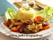 Bravčové stehno so zeleninou - recept