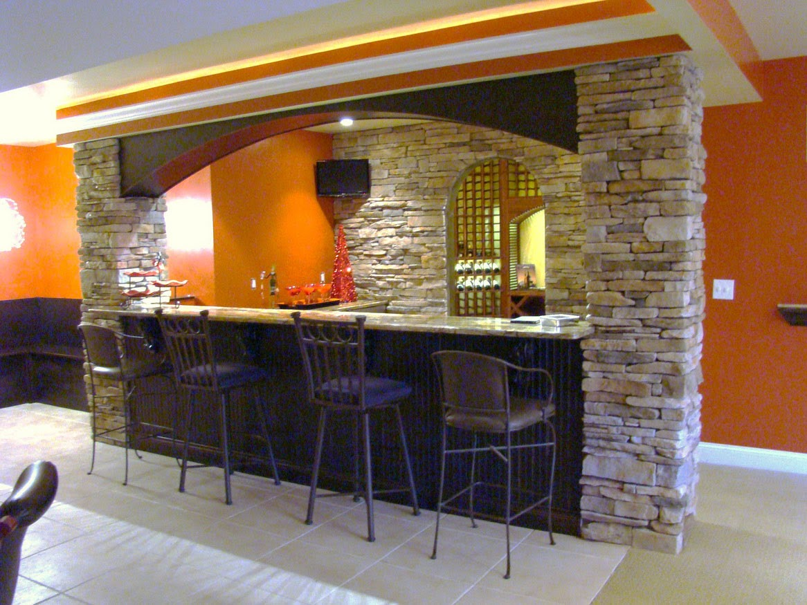 home bar basement ideas minimalist1