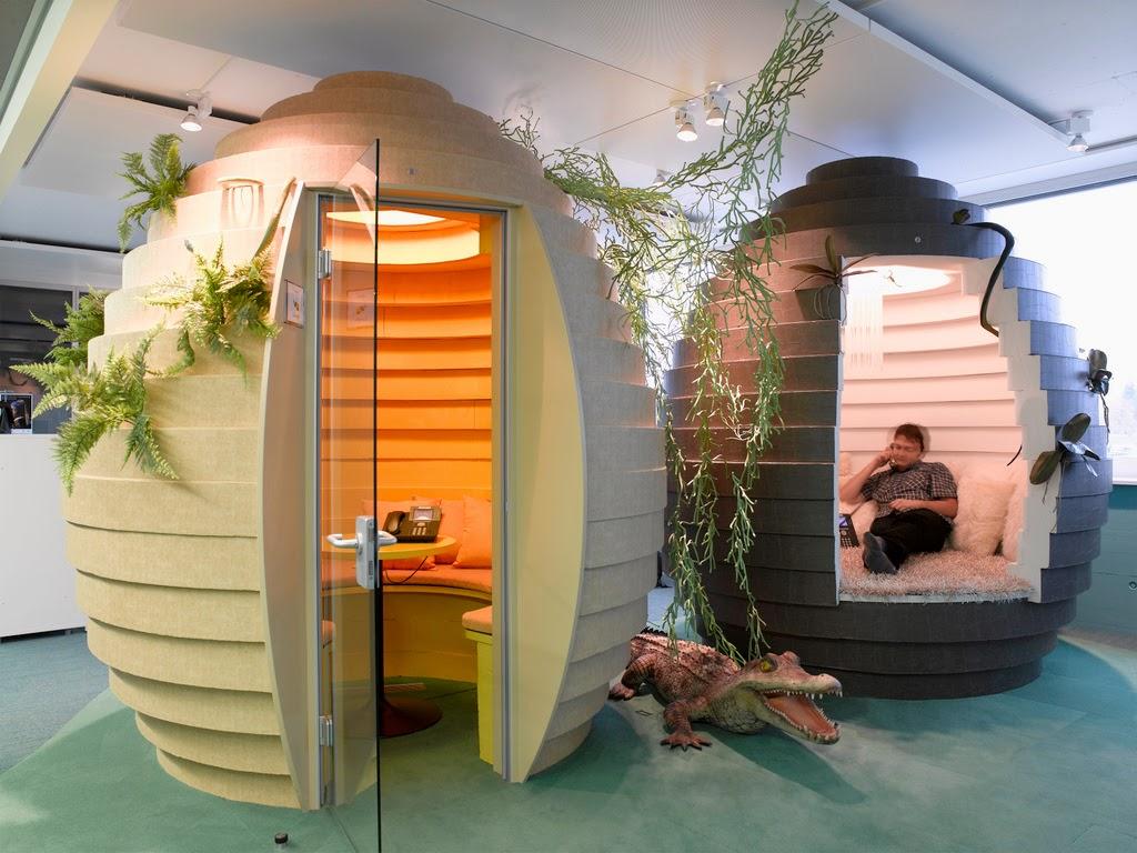 Zurich Google Office Interior Design Ideas