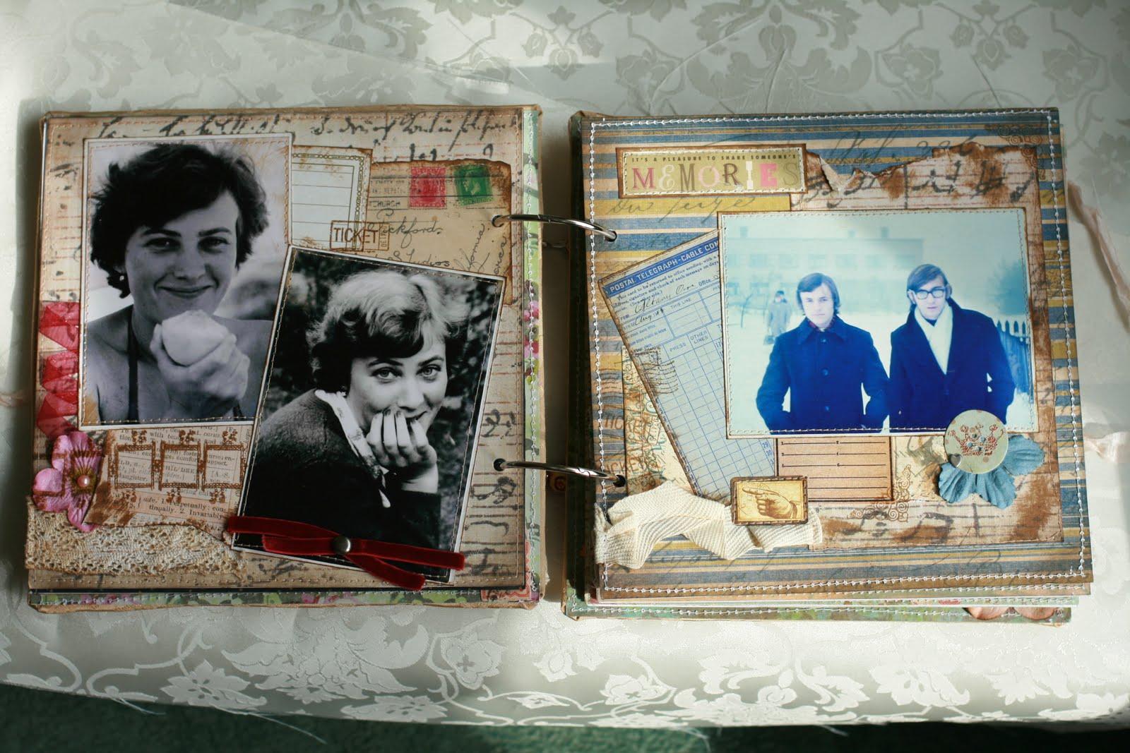 Фотоальбом из старых фото своими руками