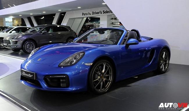 Mãn nhãn với dàn xe thể thao Porsche