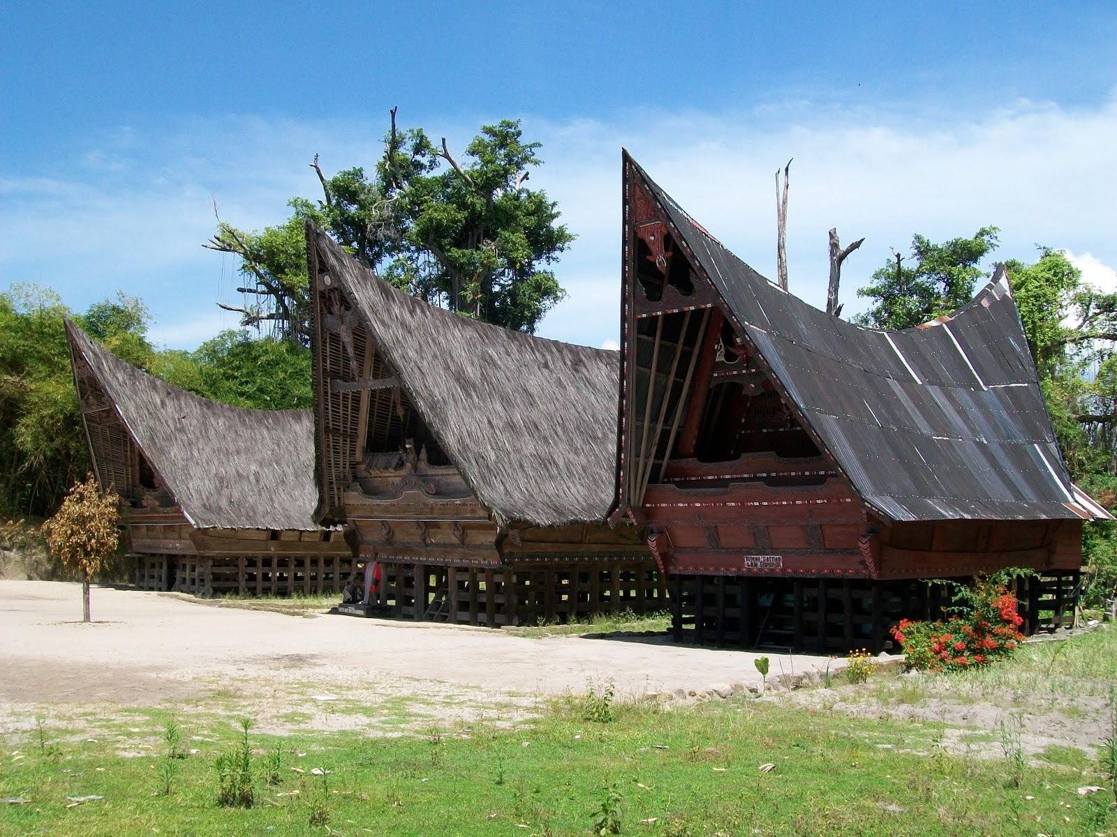 Djakarta Djournal Inside A Traditional Batak House