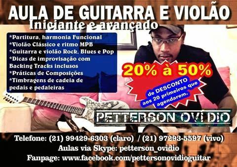 AULAS DE VIOLÃO E GUITARRA EM ITAGUAÍ!