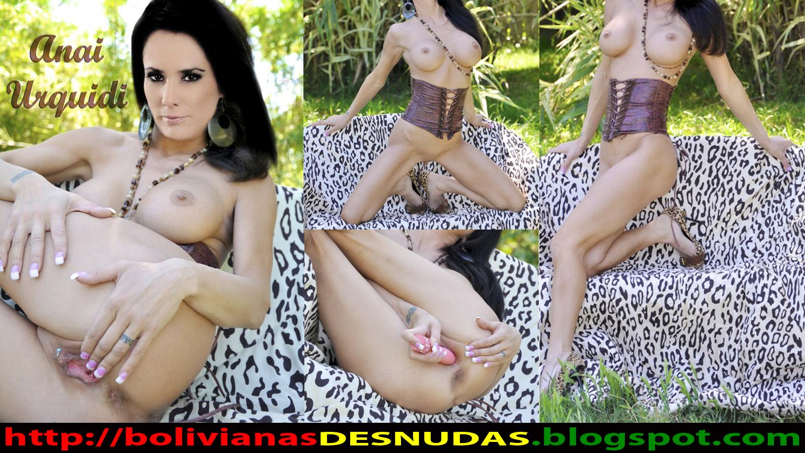 Bolivianas Famosas Desnudas Anai Urquidi Desnuda