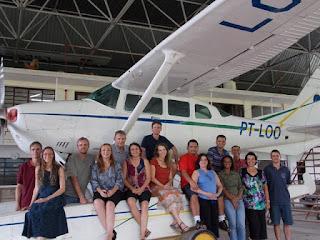 seja missionario e piloto de aviao