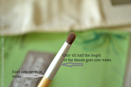 makeup brush cleaning routine wash dry air