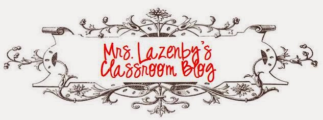 Mrs. Lazenby's Blog