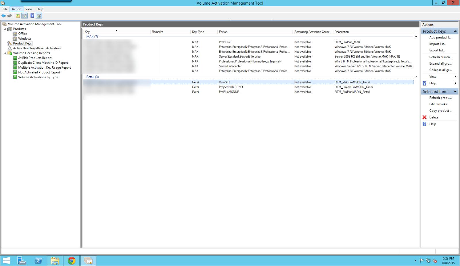 export windows 8 license key