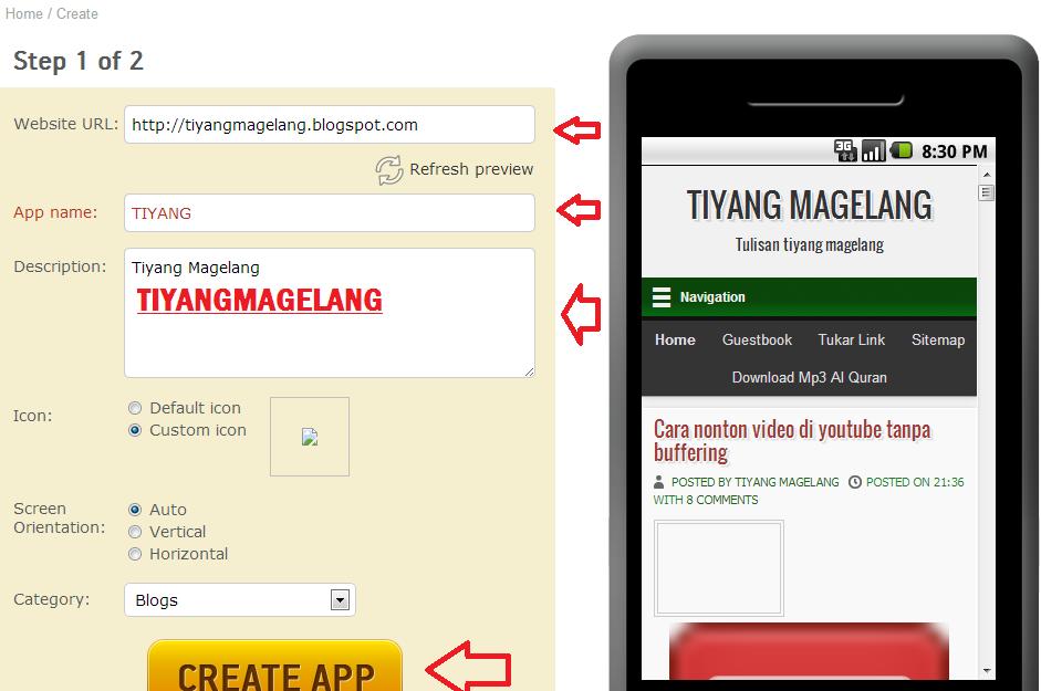 cara membuat watermark lewat android cara membuat website